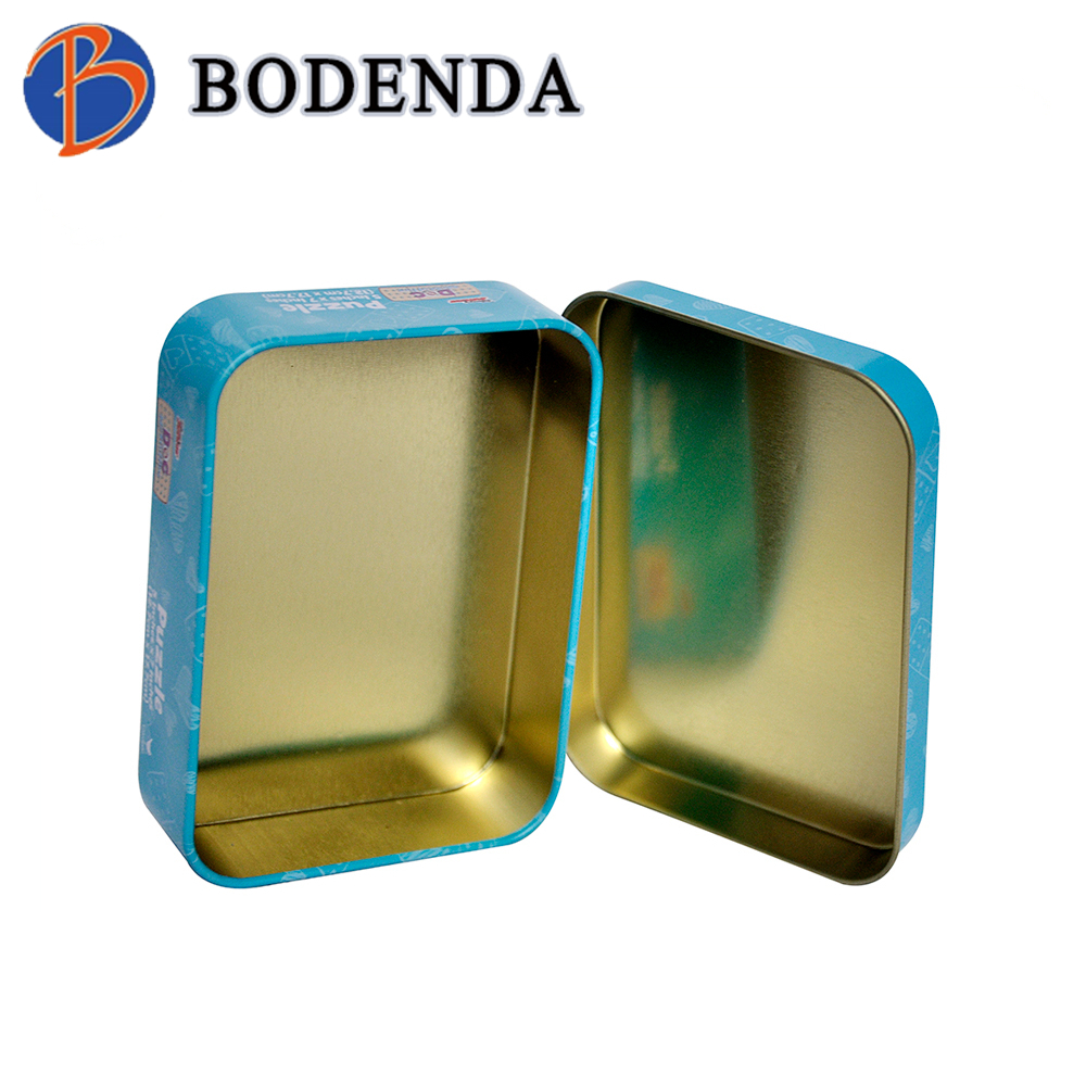High quality butter cookies tin box container