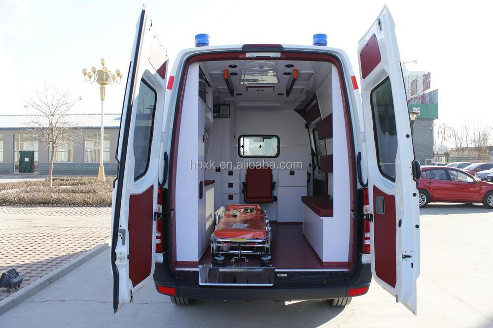 Mercedes Benz Sprinter324 Box Type Ambulance, Mobile ICU Ambulance,Medical Automobile