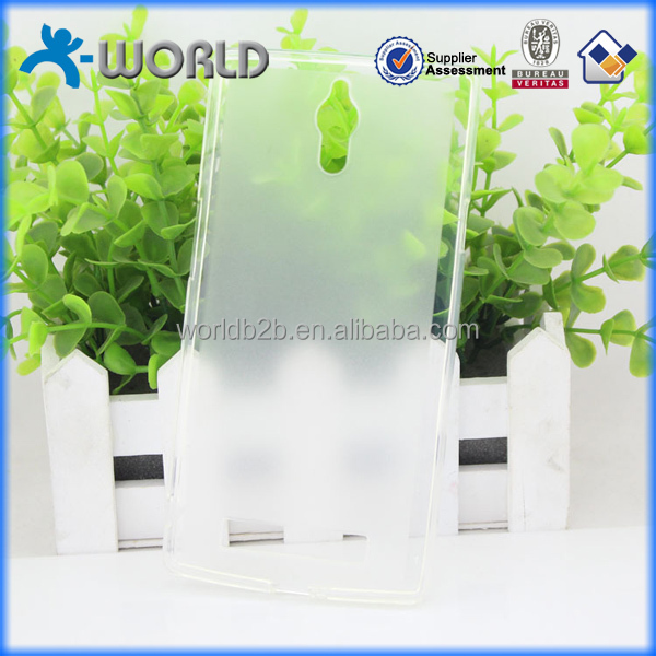 Factory directly clear transparent ultra slim custom gel phone case for OPPO Find 7