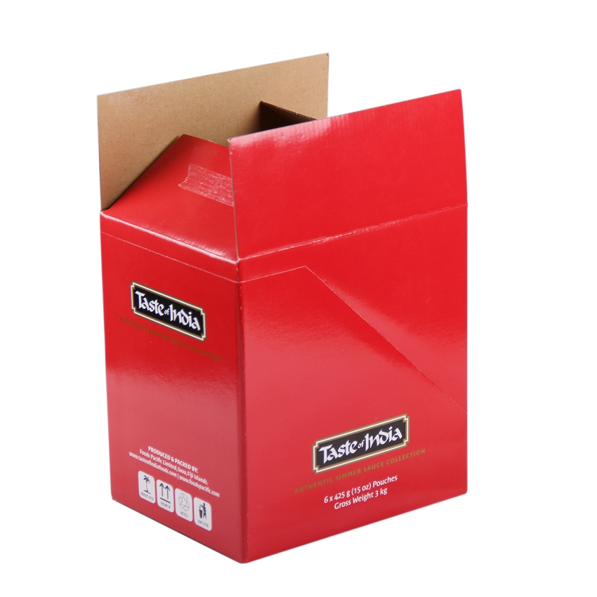 Custom die cut corrugated cardboard paper packaging boxes
