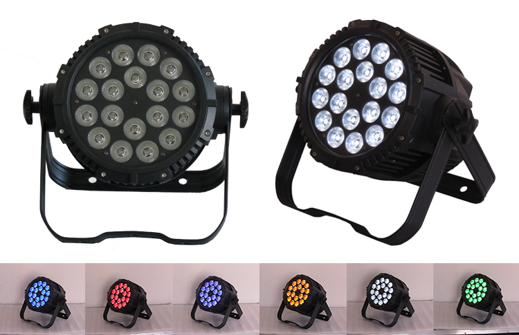 Stage 15W18 RGBWA+UV 6-IN-1 waterproof outdoor par can