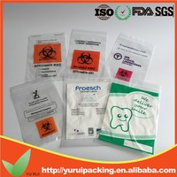 Tamper Evident security proof Bags/Medical Biohazard Specimen Bag/Plastic Bag Security Seals
