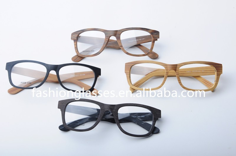 Wood Frame Safety Glasses : Stylish Reading Safety Glasses Frame Imitation Wood Grain ...
