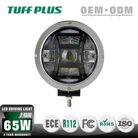 High Power Emark 9 inch Round Led Driving Lamp with Strong Bottom Bracket