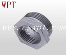 FM/UL approved malleable iron reducing bushing