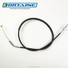 high quanlity hebei factory price cbx250 twister clutch control cable for argentina