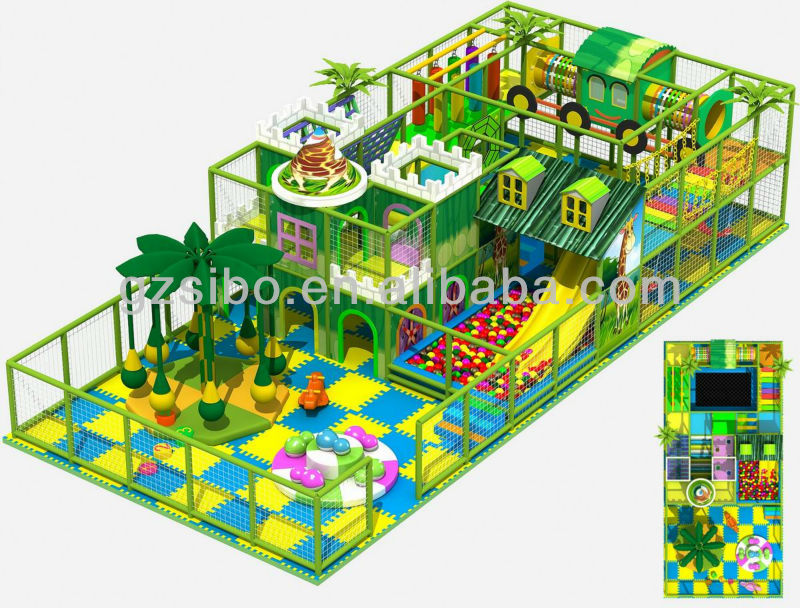 GM0 Kids Playground Items child toy for shopping mall children game playground