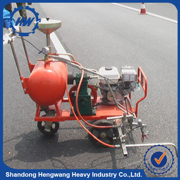 thermoplastic road marking machine/hand push road marking machine with thermoplastic preheater