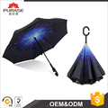 New style Automatic Reverse Inverted Umbrella Strong Windproof Double Layer Upside-down Umbrella