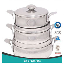 Hot selling simple design steam cooker pot manufacturer sale
