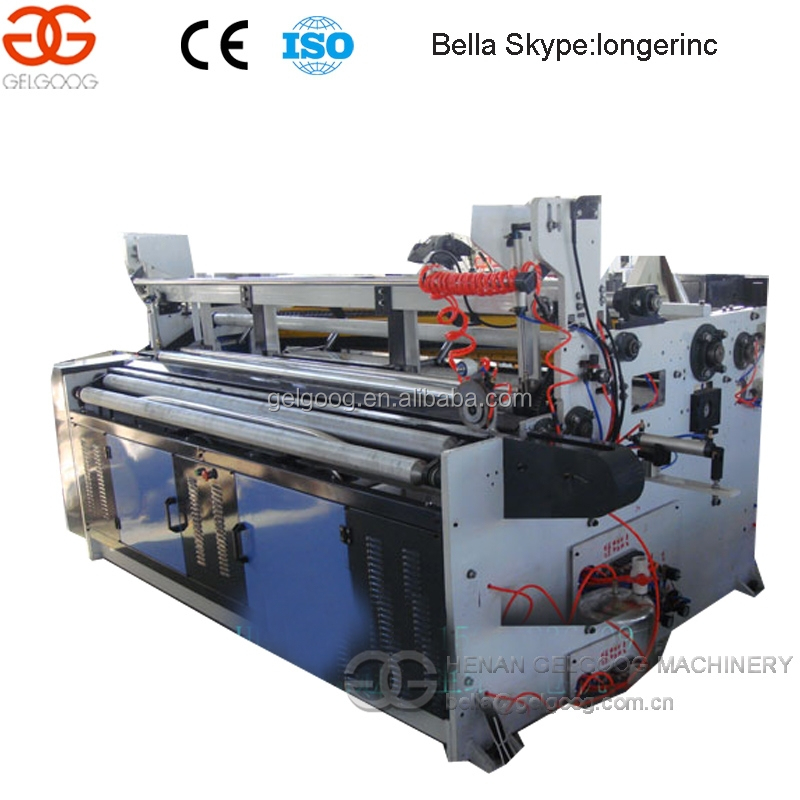 Fully-Automatic Toilet Paper Manufacturing Machine