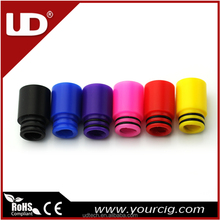 youde e cig vaporizer delrin drip tip with six colors