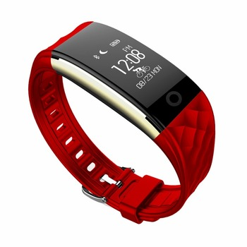 Black red white Colorful Heart rate Smart Fitness Bracelet