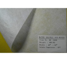 New Adhesive pva nonwoven fabric water soluble paper