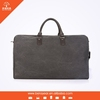 leather bag vintage new arrival fashion design canvas trimed with leather travel bag