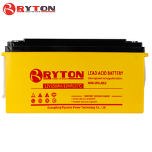Ryton power Deep Cycle Maintenance Free 12V 65AH 100AH 150AH 200AH Solar Battery