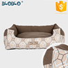Elevated dog bed detachable hamburger pet house/dog beds/cat beds