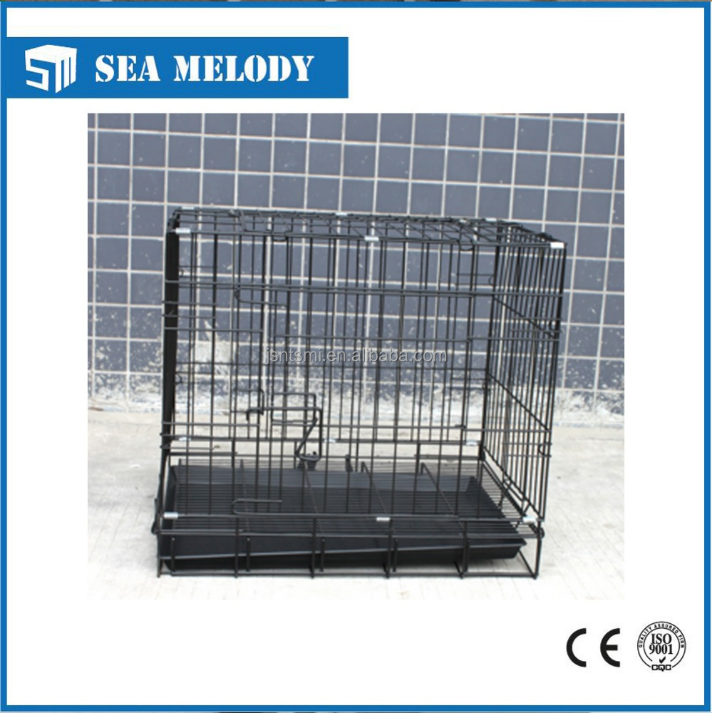 high quality steel wire pets cage for dog metal pet carrier