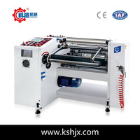 Fnished Roll Plastic Film Paper After Slitting Automatic Single-shaft Rewinding Machine