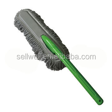 Microfiber car duster with long handle magic cleaning duster