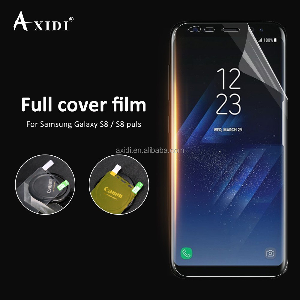 mobile accessories sensitive touch Screen Protector for Samsung Galaxy S8 Plus