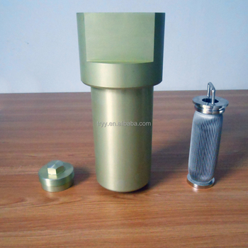 Industrial filtration Low Pressure Fuel Filter strainer for Aviation tester