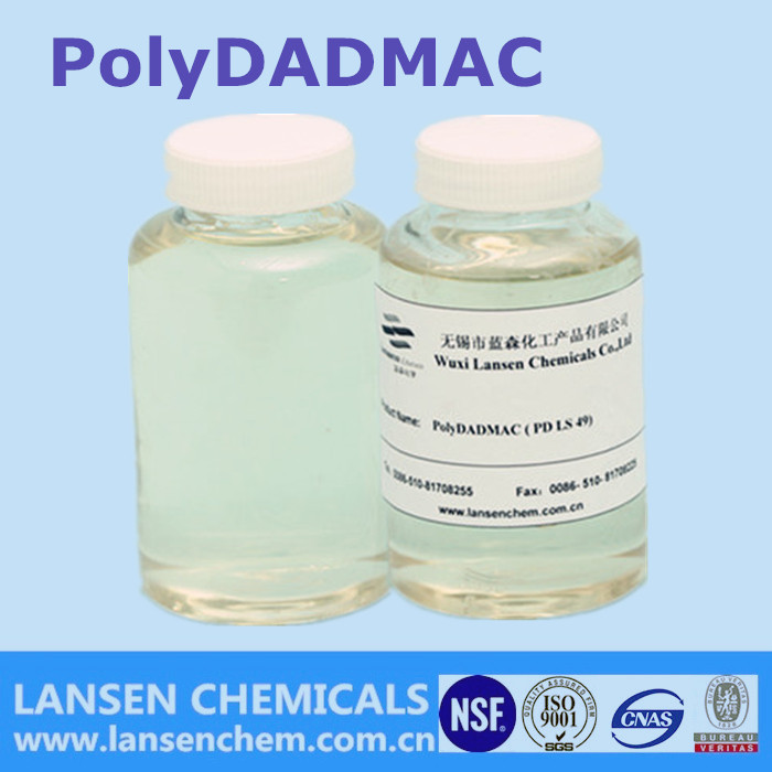Lansen low price Cationic polymer with excellent solubility polydadmac
