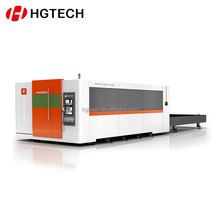 HGTECH 8mm carbon steel 2000w fiber laser cnc cutting machine cutter