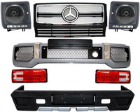 Body Kit for Mercedes W463 G-Class (1989-up) G63 G65 AMG Design Bumper Grille Headlights Tail lights
