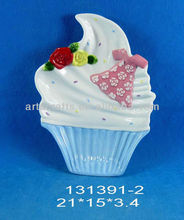 Valentine's Day decorative cake shaped plate