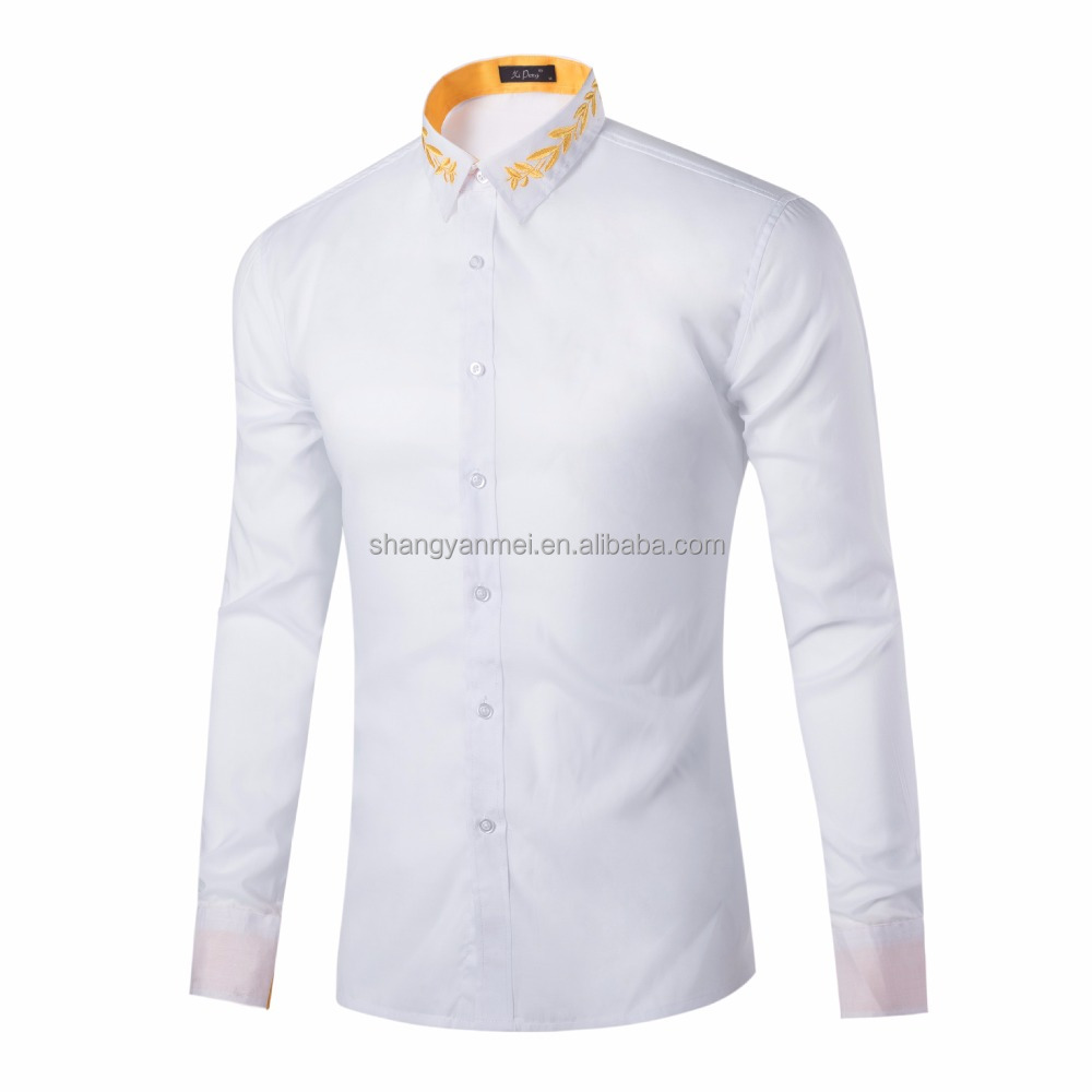 New Stlye Tom's Ware Mens Premium Casual Inner Contrast Dress <strong>Shirt</strong>