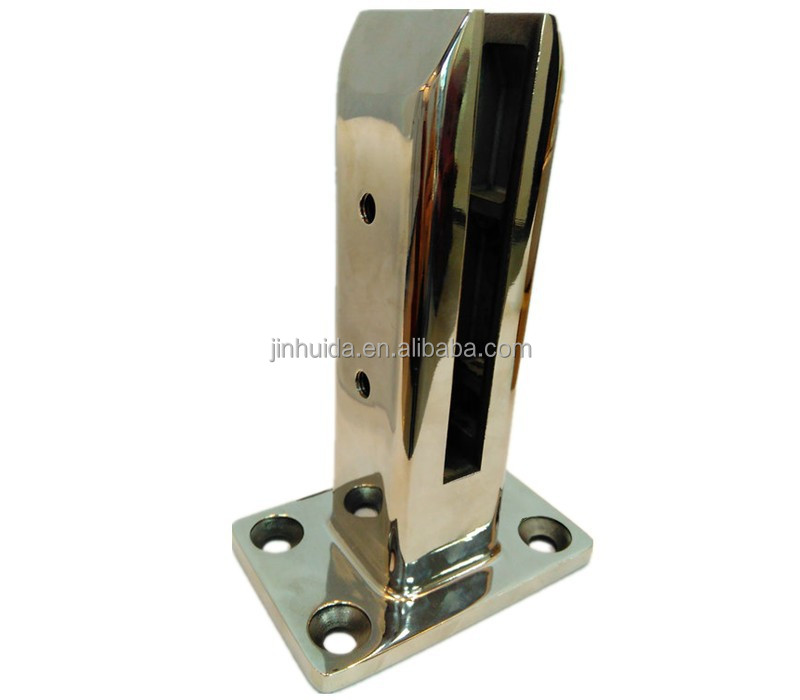 KM-738 swimming pool fence handrail glass clamp swimming pool spigot