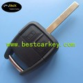Topbest good price 2 button key blanks wholesale for car key case(HU100) High security blade, without logo car key covers