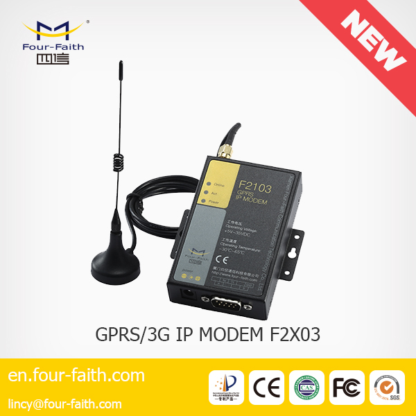 F2403 3g wireless internet modem external antenna & sim slot support APN/VPDN F2403 for meter reading
