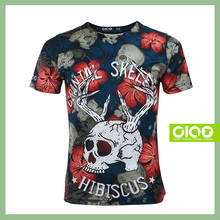 Wholesale Custom Sport 100% Ring Spun Cotton Printed T Shirt With Low Price