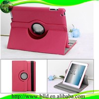 Rotate 360 degrees tablet cover for ipad air 2 leather case
