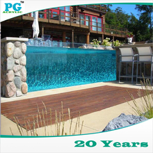 PG 100% Original Material Acrylic Panel for Large Glass Swimming Pool