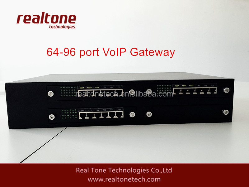 96 FXS Ports VoIP Access SIP Gateways for Asterisk/Elastix IP PBX