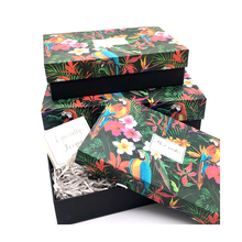 Luxury products customized made printed packaging cardboard gift box