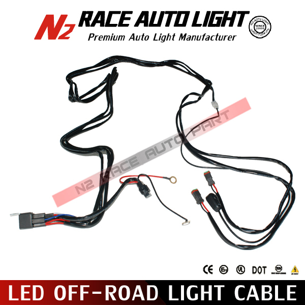 led road light cable wiring harness switch led light bar wiring harness view led light
