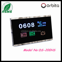Shenzhen hotel touch screen DND doorbell switch for room service