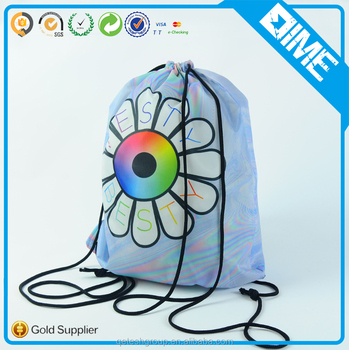 Wholesale Promotional Cheap Custom Printing Gym Drawstring Bag For Sports