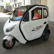 2018 hot sale electric taxi motorized tricycle for adults
