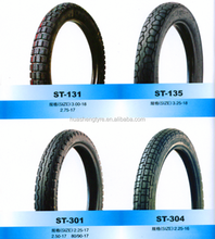 Bias rubber Motorcycle tire 3.25-18 Tire and Inner tube