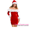 Sexy Delightful Santa Sweetie Christmas Party Dress Costumes for Girls