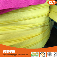 Various color3#5#7#8#10 nylon zipper roll for home textiles, luggage,sheets,tent,sleeping bag, suitcase