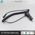 8A fuse Mini Car Cigarette Lighter Plug with Extension Cable