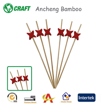 2015 hot selling bamboo products wholesale, star shape fruit sticks