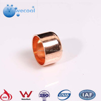 red Copper Pipe Fittings copper cap tube end