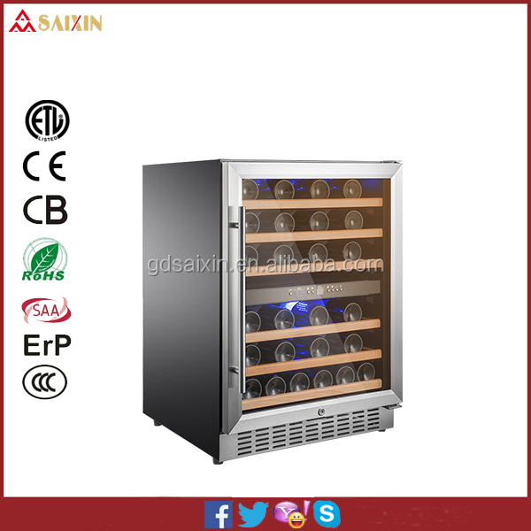 Hot Sale 46 Bottle Wine Dispenser /Wine Chiller Fridge /Wine Cabinet Cooler SRW-54D